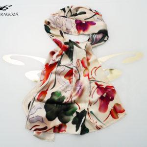 Elegante chal único para regalos especiales de mujer.