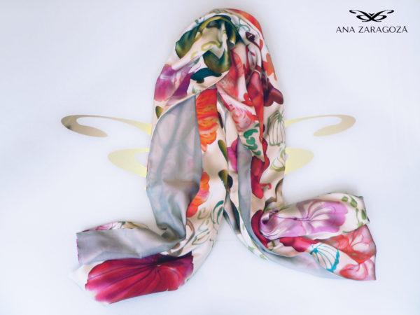 Estilosa seda de alta calidad y estimación floral. Producto de lujo